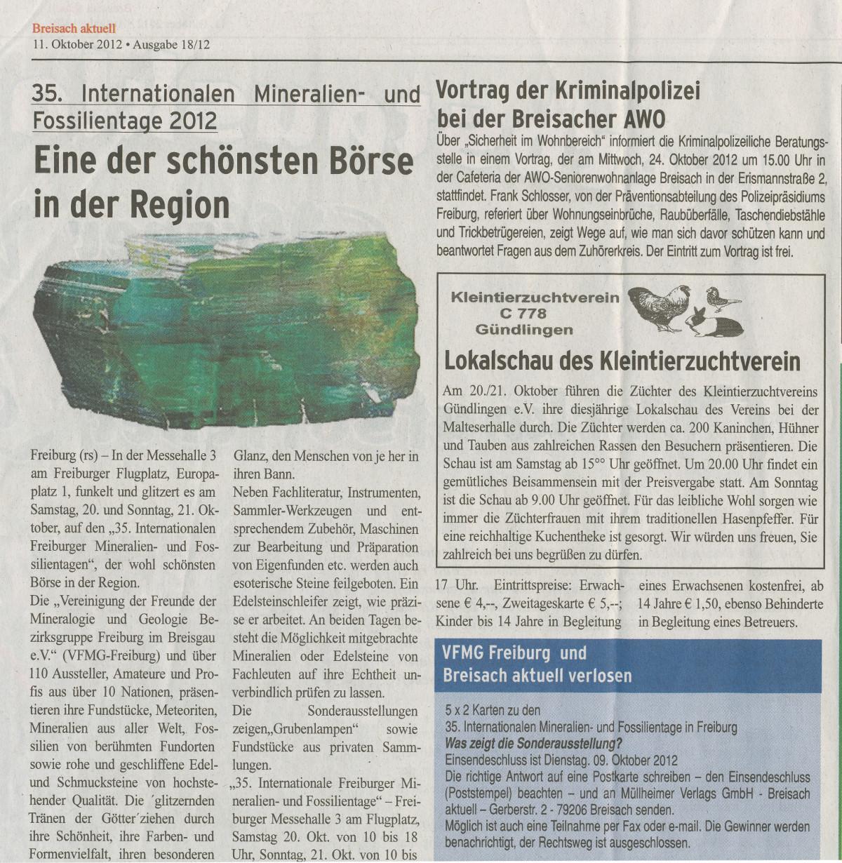bz freiburg aktuell